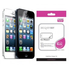 DiscoveryBuy Premium Diamond Screen Protector Film для iPhone 5/5S
